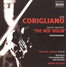 Corigliano: Violin Concerto 'The Red Violin'; Phantasmagoria, New Music
