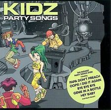Kidz Party Songs by Various Artists (CD, Mar-2003, Big Eye Music)