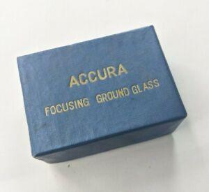 Accura Focusing Ground glass Ground Glass For 35mm Film Camera Japan