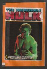 BUSTINA PACKET TUTEN FIGURINE F.K.S. 1979 THE INCREDIBLE HULK  SIGILLATA