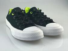 b5da010442 Converse All Star Chuck Taylor II schwarz/neon gelb 153541C Sneaker Unisex