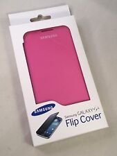Brand New Official - Samsung Galaxy S4 Flip Cover Case - Pink  - I9500 I9505