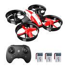 Holy Stone HS210 Mini Drone RC Quadcopter for Kids 3 Batteries Headless 3D Flip