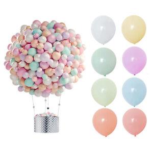 30pcs 5/10 '' Macaron Colorful Latex Balloons Birthday Party Wedding Decoration