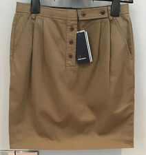 ......Fred Perry : Ladies Pencil Skirt ( Uk 10 ) Silver Mink