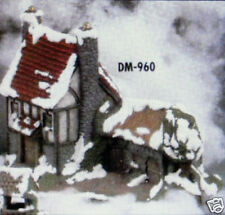 Ceramic Bisque Village Doctor House Duncan Mold 960 U-Paint Ready To Paint