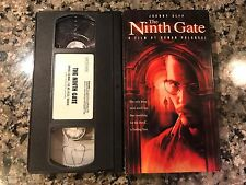 The Ninth Gate Vhs! 1999 Mystery! From Hell Frantic Bitter Moon Chinatown