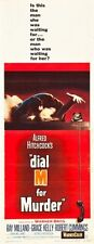 Dial M For Murder 14x36 Insert Movie Poster Replica