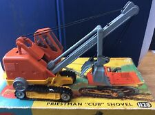 CORGI TOYS MAJOR 1128 PRIESTMAN CUB SHOVEL  Boxed (Playcraft Toys London)