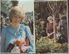 Lot 2 Princess Diana Deptford London Plant Tree 1981-2 Travel Series-3 PCs