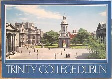 Irish Postcard TRINITY COLLEGE Campanile Bell Tower Dublin Ireland John Hinde