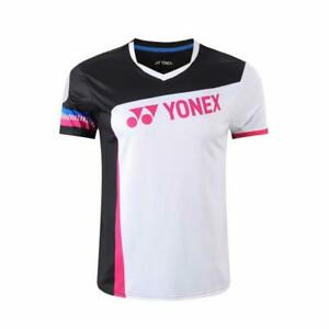 New sports badminton Tops mens Tennis Racquet Sport T Shirts