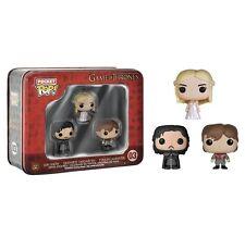 Figurine Pop Tin Funko - Game Of Thrones - Jon Snow, Tyrion, Daenerys
