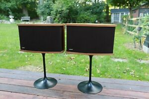 Bose 901 Speakers Series VI with Tulip Stands and Equalizer USA Made