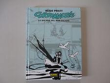 CORTO MALTES-LA BALADA DEL MAR SALADO-HUGO PRATT-RARE HARDCOVER BOOK-1ST EDITION