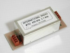 Inrad 702 455kHz 2100Hz SSB Mechanical Filter for Yaesu FT-1000MP (tested)