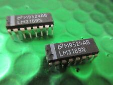 Amplificador de sistema LM3189N FM im FM detector Reino Unido stock DIP16 ic ** 2 por Venta **