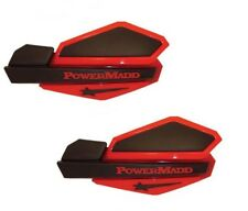 Hand Guards PowerMadd Star Black Red Yamaha Grizzly 600 660 700 PM14202 + 34252