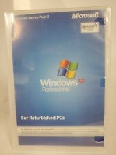 NEW WINDOWS XP PROFESSIONAL SERVICE PACK 3 FOR REFURBISHED PCs BUY NOW