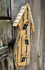 "Bat Houses - ""Collinwood"" Bat House - Natural - Garden Decor"