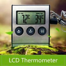 Multifunctional LCD Digital Kitchen BBQ Grill Kitchen Smoker Thermometer Timer