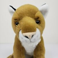 Wild Republic Cougar Puma Plush Stuffed Animal Mountain Lion Big Cat Realistic