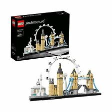 LEGO 21034 Architecture London Skyline Model Building Set, London Eye, Big Be...