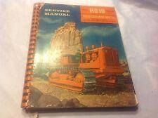 Allis Chalmers Hd19h Dozer Tractor Service Shop Workshop Repair Manual 1949