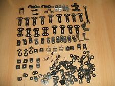 Märklin Metallbaukasten verschiedene schwarze Teile  sehr gut erhalten