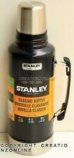 Stanley Classic 1.9 L Stainless Steel Thermos Flask Vacuum Insulated Bottle BLUE