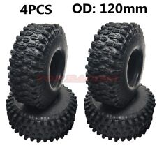 4PCS CRAWLER 1.9 Tires 120mm TYRE For AXIALSCX10 TRAXXAS TRX-4 JEEP RC TRUCK