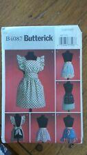 Butterick Apron Pattern #B4087 One-Size, 5 1950's Styles!
