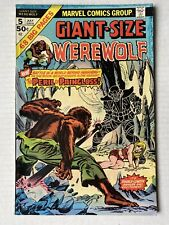 WEREWOLF BY NIGHT Giant Size #5 July 1975 Vintage Marvel Comic Unread
