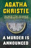 A Murder is Announced by Agatha Christie 9780007208463 | Brand New
