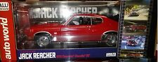 JACK REACHER 1970 Chevy Chevelle Diecast Car 1/18 Autoworld 10inch Red AWSS109