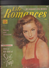 Life Romances Magazine June 1953 There's  a New Kind of Sex Trap