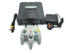 Nintendo 64 Console N64 NTSC J Grey Japan Japanese Version Working Region Free
