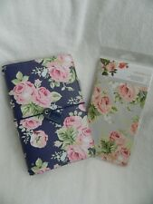 Webster's Pages Traveler's Notebook Set - Navy Floral