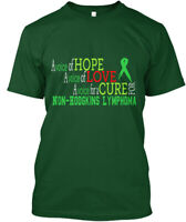 Non-hodgkins Lymphoma Awareness - A Voice Of Hope Love Hanes Tagless Tee T-Shirt