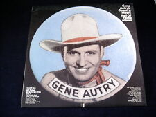 GENE AUTRY'S COUNTRY MUSIC HALL OF FAME LP RECORD ALBUM