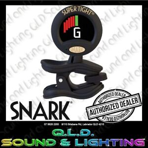 Snark ST-8 Super Tight Clip On Chromatic Tuner/Metronome for All Instruments