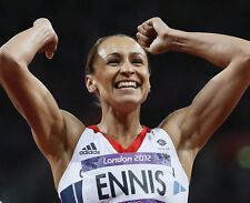 Jessica Ennis-Hill UNSIGNED photo - H8231 - 2012 Olympic Heptathlon champion