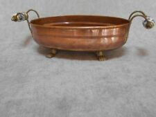Vintage French COPPER JARDINIERE, Herbal PLANTER