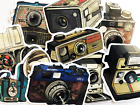 9 Camera Film Movie Producer Watercolor Antique Stickers For Computer Iphone