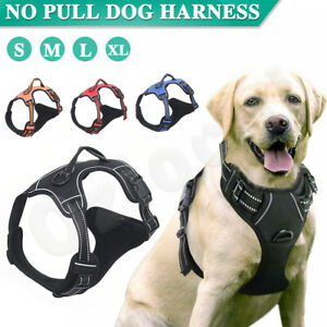 S-XL Front Range No-Pull Dog Harness Vest Adjustable Outdoor Handle Puppy pet