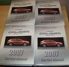 2007 Dodge Caliber Shop Service Manual Vol 1 2 3 4 Set 07 Copr 06