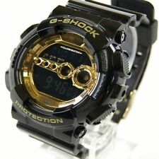 GD-100GB-1D Gold Black Casio G-SHOCK 200M Sport Watch Digital Resin Band Men New