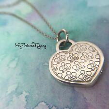 Authentic Tiffany & Co. Go Women Marathon Japan 2016 Heart Flower Necklace