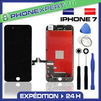 VITRE TACTILE + ECRAN LCD RETINA ASSEMBLÉ SUR CHASSIS POUR IPHONE 7 NOIR