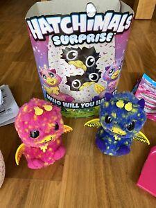 Hatchimals Surprise Giravens, Zwillinge, gebraucht, Zustand wie NEU!